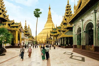 Birmanie - Myanmar - Circuit Cap sur la Birmanie