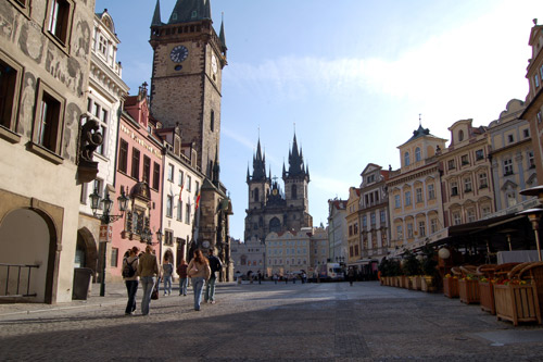 WEEK END PRAGUE 5J/4N : HOTEL 3*, voyage - sejour