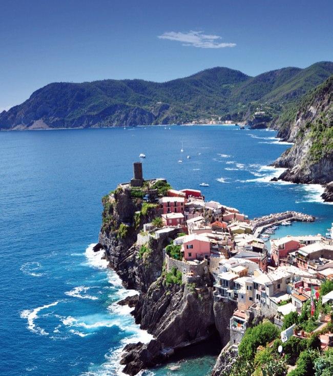 ITALIE - L'ILE D'ELBE ET LES 5 TERRES
