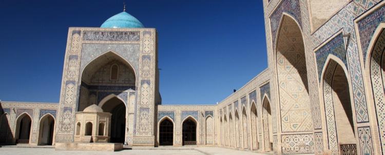 Circuit Cap sur l'Ouzbékistan